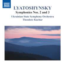 Boris Lyatoshinsky (1895-1968): Symphonien Nr.2 & 3, CD