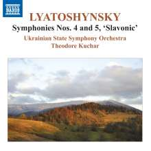 Boris Lyatoshinsky (1895-1968): Symphonien Nr.4 & 5, CD
