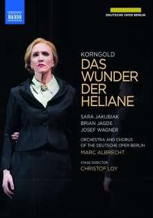 Erich Wolfgang Korngold (1897-1957): Das Wunder der Heliane, 2 DVDs