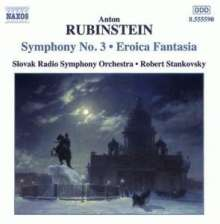 Anton Rubinstein (1829-1894): Symphonie Nr.3 op.56, CD