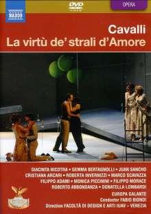 Francesco Cavalli (1602-1676): La Virtu de strali d'amore, 2 DVDs