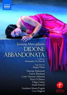 Saverio Mercadante (1795-1870): Didone Abbandonata, DVD