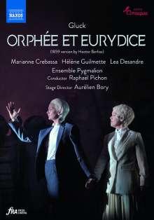"""Christoph Willibald Gluck (1714-1787): Orpheus & Eurydike (in der Version von Hector Berlioz nach der Pariser Fassung """"Orphee et Eurydice""""), DVD"""