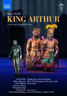 Henry Purcell (1659-1695): King Arthur, DVD