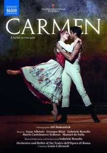 Corpo di Ballo del Teatro dell'Opera di Roma: Carmen, DVD