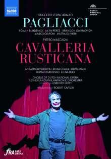 Pietro Mascagni (1863-1945): Cavalleria Rusticana, DVD
