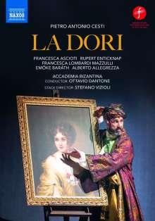 Marc (Pietro) Antonio Cesti (1623-1669): La Dori, overo Lo schiavo reggio (Oper in 3 Akten), DVD