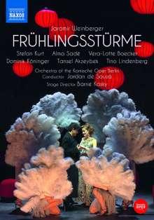 Jaromir Weinberger (1896-1967): Frühlingsstürme (Operette in 3 Akten), 2 DVDs