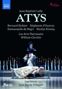Jean-Baptiste Lully (1632-1687): Atys, 2 DVDs