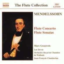 Felix Mendelssohn Bartholdy (1809-1847): Violinkonzert d-moll für Flöte & Streicher, CD