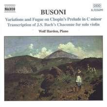 Ferruccio Busoni (1866-1924): Klavierwerke Vol.2, CD