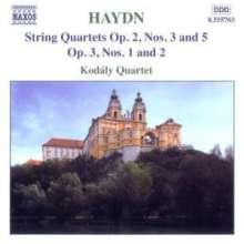 Joseph Haydn (1732-1809): Streichquartette Nr.9,11,13,14, CD