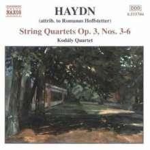 Joseph Haydn (1732-1809): Streichquartette Nr.15-18, CD