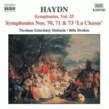 Joseph Haydn (1732-1809): Symphonien Nr.70,71,73, CD