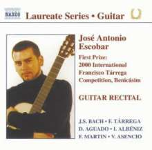 Jose Antonio Escobar - Gitarrenrecital, CD