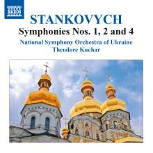Evgeny Stankovich (geb. 1942): Symphonien Nr.1,2,4, CD