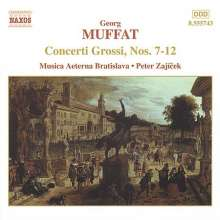 Georg Muffat (1653-1704): Concerti grossi Nr.7-12, CD