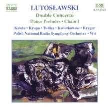 Witold Lutoslawski (1913-1994): Doppelkonzert für Oboe,Harfe & Kammerorchester, CD