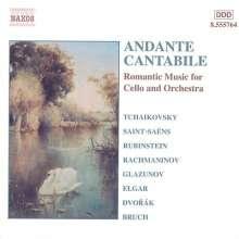 Andante Cantabile - Romantische Musik für Cello & Orchester, CD