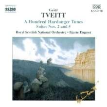 Geirr Tveitt (1908-1981): Hardanger-Suiten Nr.2 & 5, CD