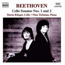 Ludwig van Beethoven (1770-1827): Cellosonaten Nr.1 & 2, CD