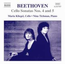 Ludwig van Beethoven (1770-1827): Cellosonaten Nr.4 & 5, CD