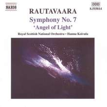 "Einojuhani Rautavaara (geb. 1928): Symphonie Nr.7 ""Angel of Light"", CD"