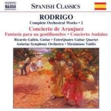 Joaquin Rodrigo (1901-1999): Orchesterwerke Vol.2, CD