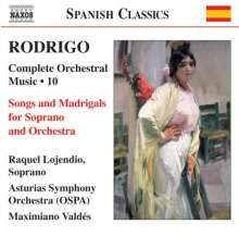 Joaquin Rodrigo (1902-1999): Orchesterwerke Vol.10, CD