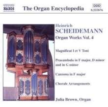 Heinrich Scheidemann (1596-1663): Sämtliche Orgelwerke Vol.4, CD