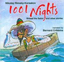 Nikolai Rimsky-Korssakoff (1844-1908): 1001 Nights (Sinbad and more), CD