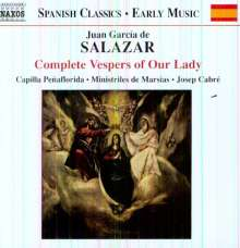 Juan Garcia de Salazar (1639-1710): Complete Vespers of Our Lady, CD
