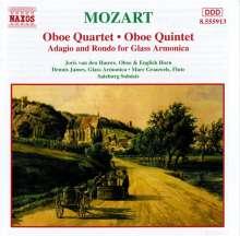 Wolfgang Amadeus Mozart (1756-1791): Oboenquartett KV 370, CD