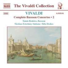 Antonio Vivaldi (1678-1741): Fagottkonzerte Vol.2, CD