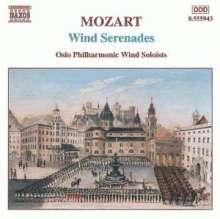 Wolfgang Amadeus Mozart (1756-1791): Kammermusik für Bläser, CD