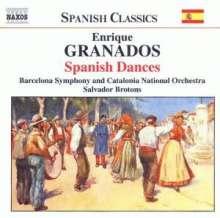 Enrique Granados (1867-1916): Danzas Espanolas op.37 Nr.1-12 für Orchester, CD