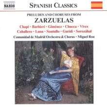 Zarzuelas - Vorspiele & Chöre spanischer Musikkomödien, CD
