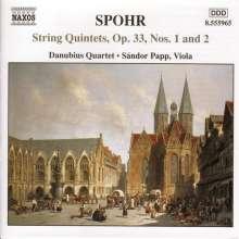 Louis Spohr (1784-1859): Streichquintette Vol.1, CD