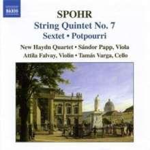 Louis Spohr (1784-1859): Streichquintette Vol.4, CD