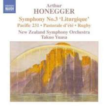 "Arthur Honegger (1892-1955): Symphonie Nr.3 ""Liturgique"", CD"