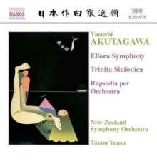 Yasushi Akutagawa (1925-1989): Ellora Symphonie, CD