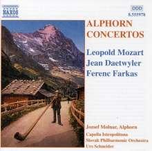 Jozsef  Molnar spielt Alphornkonzerte, CD
