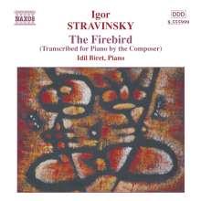 Igor Strawinsky (1882-1971): Der Feuervogel (Fassung für Klavier), CD