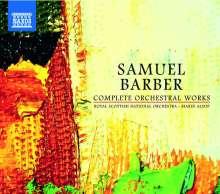 Samuel Barber (1910-1981): Das Orchesterwerk, 6 CDs