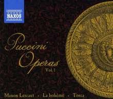 Giacomo Puccini (1858-1924): Puccini Operas Vol.1, 6 CDs