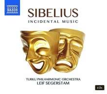 Jean Sibelius (1865-1957): Bühnenmusiken, 6 CDs