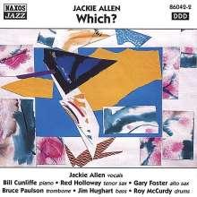 Jackie Allen: Which?, CD
