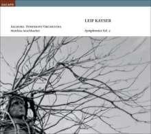 Leif Kayser (1919-2001): Symphonien Vol.2, CD