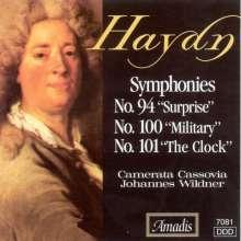 Joseph Haydn (1732-1809): Symphonien Nr.94,100,101 (SHM-CD), CD