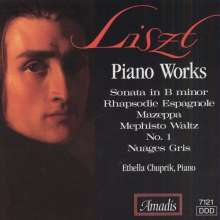 Liszt / Chuprik: Piano Works, CD